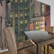 Papier peint  Breakfast in Paris