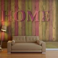Papier peint  house (pink)