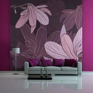 Papier peint  Dreamy flowers