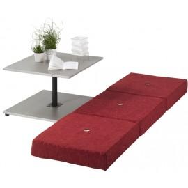 Table Basse Transformable Avec Coussins Intégrés