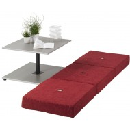 Table basse transformable en couchage 1 place