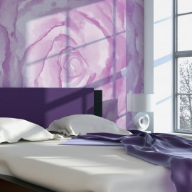 Papier peint - rose (rose)
