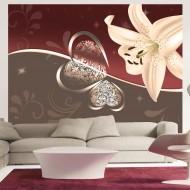 Papier peint  Cream lily