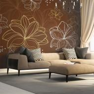 Papier peint  Autumnal flora