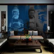 Papier peint  Trois corps du Bouddha