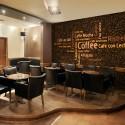 Papier peint - Latte, espresso, cappucino...