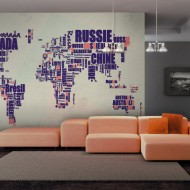 Papier peint  Travel center