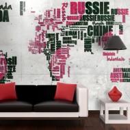 Papier peint  World of travel
