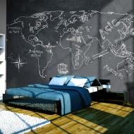 Papier peint  Small travel. Large travel (French language)