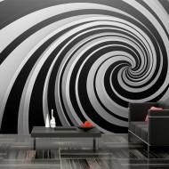 Papier peint XXL  Black and white swirl
