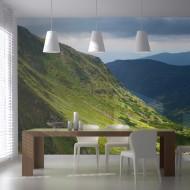 Papier peint XXL  Green mountain landscape