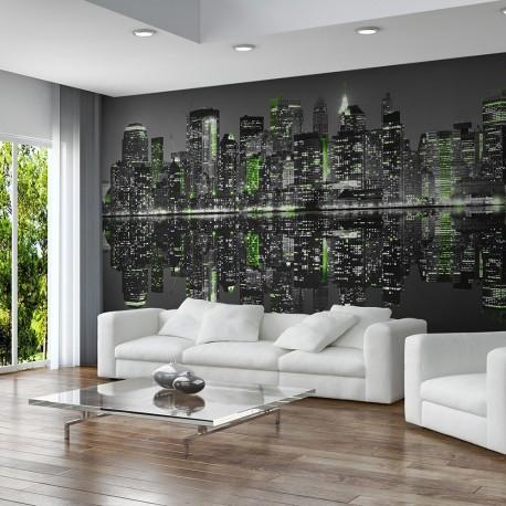 papier peint xxl nyc endormi beaux meubles pas chers. Black Bedroom Furniture Sets. Home Design Ideas