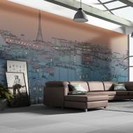 Papier peint XXL  Bonsoir Paris !
