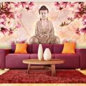 Papier peint XXL - Bouddha et magnolia