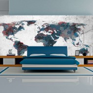 Papier peint XXL  World map on the wall