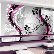 Papier peint XXL  Artflowers (pink)