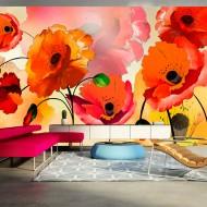 Papier peint XXL  Velvet poppies