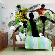 Papier peint  Stars du football
