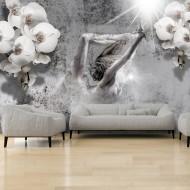 Papier peint  Arrangement with orchid