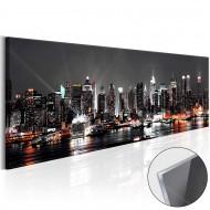 Tableau sur verre acrylique  New York Dream [Glass]