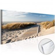 Tableau sur verre acrylique  Wild Beach [Glass]