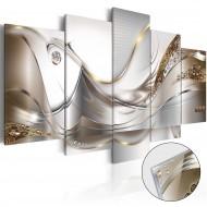 Tableau sur verre acrylique  Golden Flight [Glass]