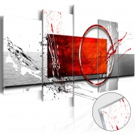 Tableau sur verre acrylique  Wintry Expression [Glass]