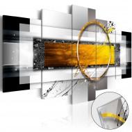 Tableau sur verre acrylique  Golden Shot [Glass]