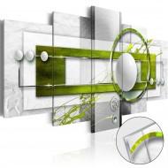 Tableau sur verre acrylique  Green Energy [Glass]