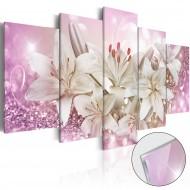 Tableau sur verre acrylique  Pink Courtship [Glass]