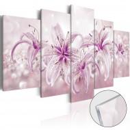 Tableau sur verre acrylique  Purple Harmony [Glass]