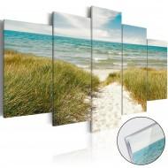Tableau sur verre acrylique  Sea Melody [Glass]