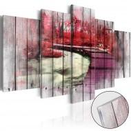 Tableau sur verre acrylique  Red Autumn [Glass]