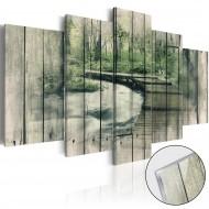 Tableau sur verre acrylique  The River of Secrets [Glass]