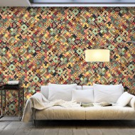 Papier peint XXL  Rainbow Mosaic