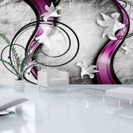 Papier peint XXL  Flowery Ribbon