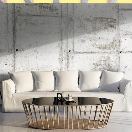 Papier peint xxl urban bunker beaux meubles pas chers Quel papier peint avec meuble merisier