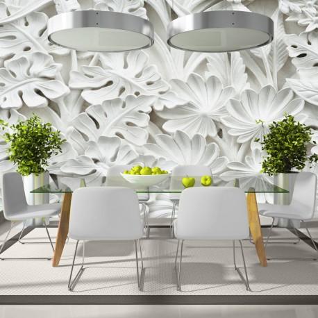 Papier peint xxl jardin d 39 alb tre ii beaux meubles pas Quel papier peint avec meuble merisier