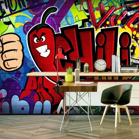 papier peint xxl chili out ii beaux meubles pas chers. Black Bedroom Furniture Sets. Home Design Ideas