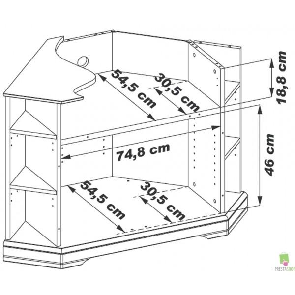 Meuble Tv Dangle Acacia Massif Beauregard ~ Idées de Décoration et de Mobilie -> Meuble Tv DAngle Acacia Massif Beauregard