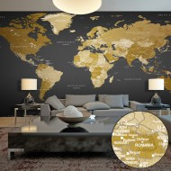 Papier peint XXL  World Map Modern Geography II