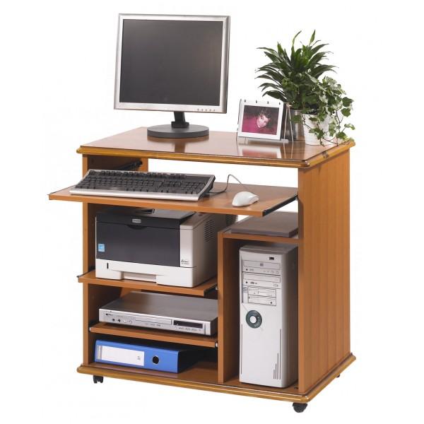 console informatique merisier. Black Bedroom Furniture Sets. Home Design Ideas