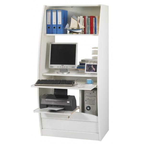armoire informatique galb e largeur 80 cm beaux meubles. Black Bedroom Furniture Sets. Home Design Ideas