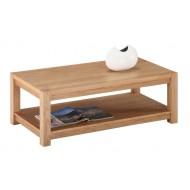 Table Basse Rectangle Chêne Clair 120 cm