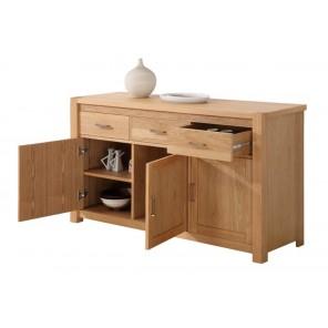 meuble trois portes et trois tiroirs