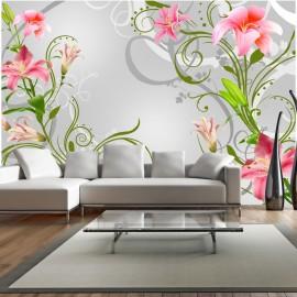 Papier peint - Subtle beauty of the lilies III