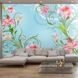 Papier peint - Subtle beauty of the lilies II