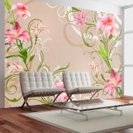 Papier peint  Subtle beauty of the lilies