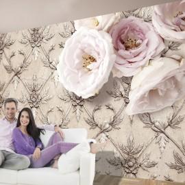 Papier peint - Romantic beige