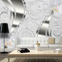 Papier peint - Flowering abstraction